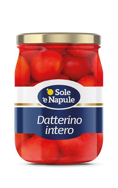 Datterino intero Vetro 580 g
