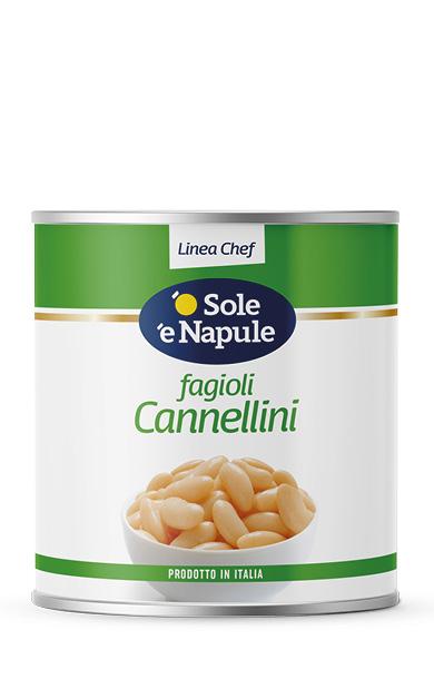 Fagioli Cannellini Latta 2,5 Kg