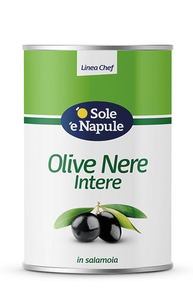 Olive Nere intere Latta 5 Kg