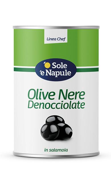 Olive Nere denocciolate Latta 5 Kg