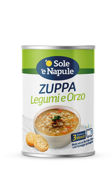 Zuppa Legumi e Orzo Latta 400 g
