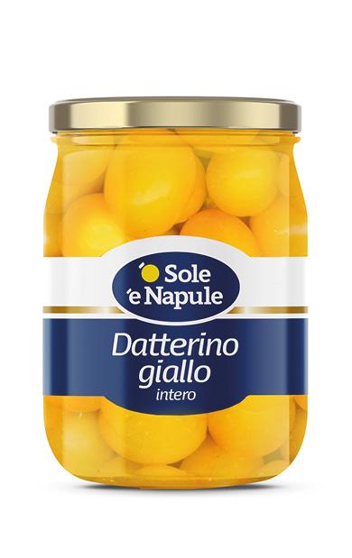 Datterino intero giallo Vetro 580 g