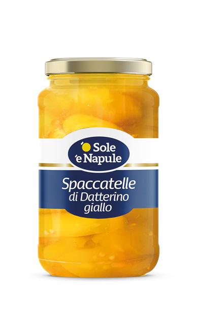 Spaccatelle di datterino giallo - Vetro 580 g