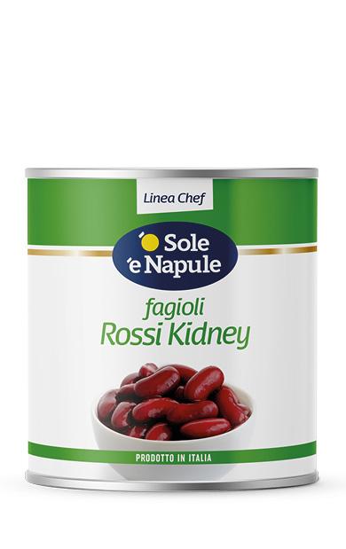 Fagioli Rossi Kidney Latta 2,5 Kg