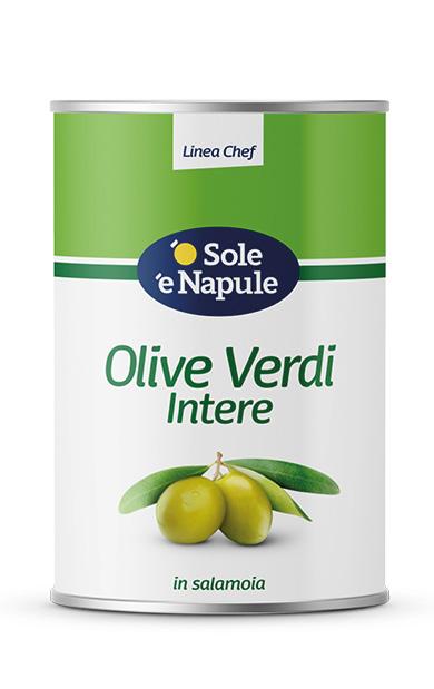Olive Verdi intere Latta 5 Kg