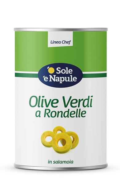 Olive Verdi a rondelle Latta 5 Kg
