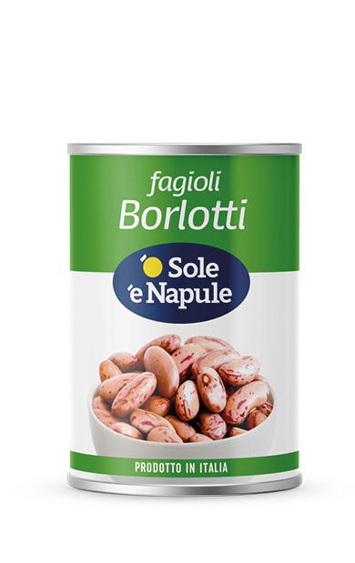 Fagioli Borlotti Latta 400 g