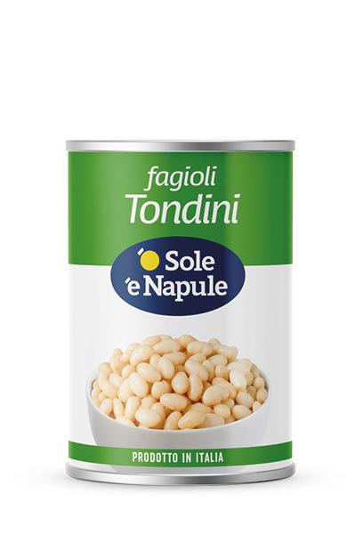 Fagioli Tondini Latta 400 g