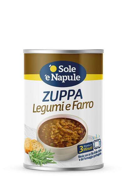 Zuppa Legumi e Farro Latta 400 g